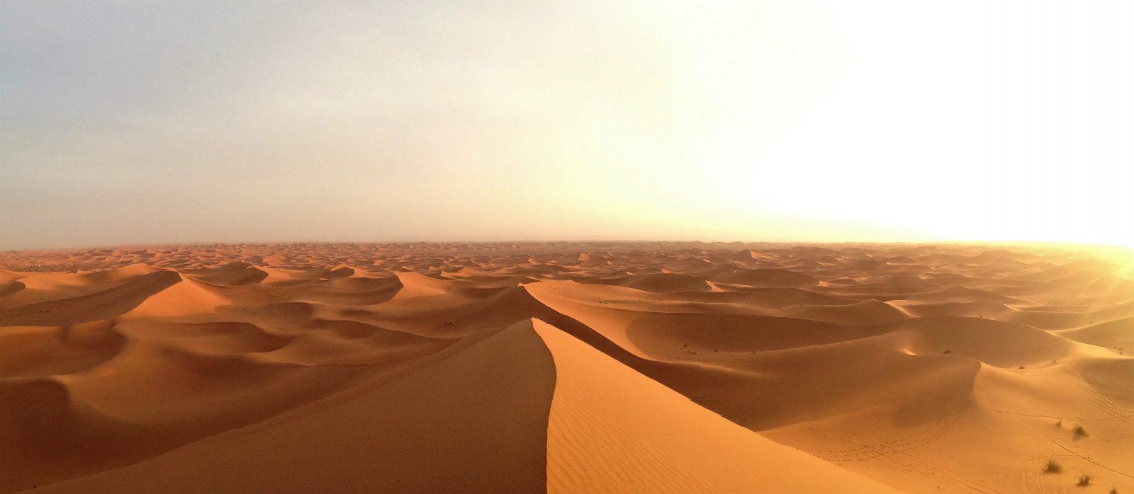 Désert marocain, lieu rêvé pour une idylle